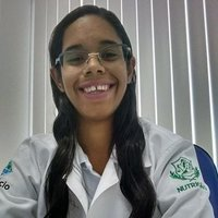 Juliana, estudante de nutrição, 1º lugar no concurso de estagiarios de nivel superior do IFRN Campus Natal Central.