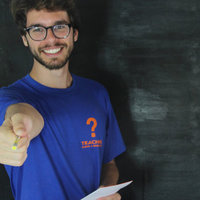 Professor de Inglês online e offline teacher i have a question - Florianópolis